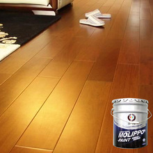 Abrasion resistance furniture and floor wood paint