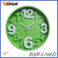 Plastic 3d wall clocks wholesale