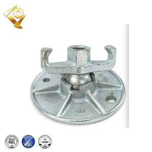 China supplier Construction formwork wing nuts Slope super plate