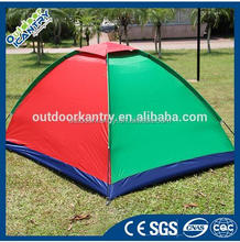 Multi-User Waterproof Outdoor Camping Tent Double Adhesive Supply Eight People Rainstorm Park Leisure Tents