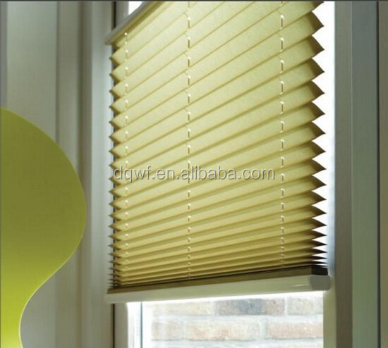 polyester fabrics to make pleated roller blinds