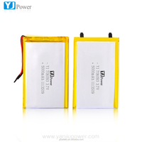High capacity 3.7v 5000mAh polymer Lion technology for scarf heated / miner lamp