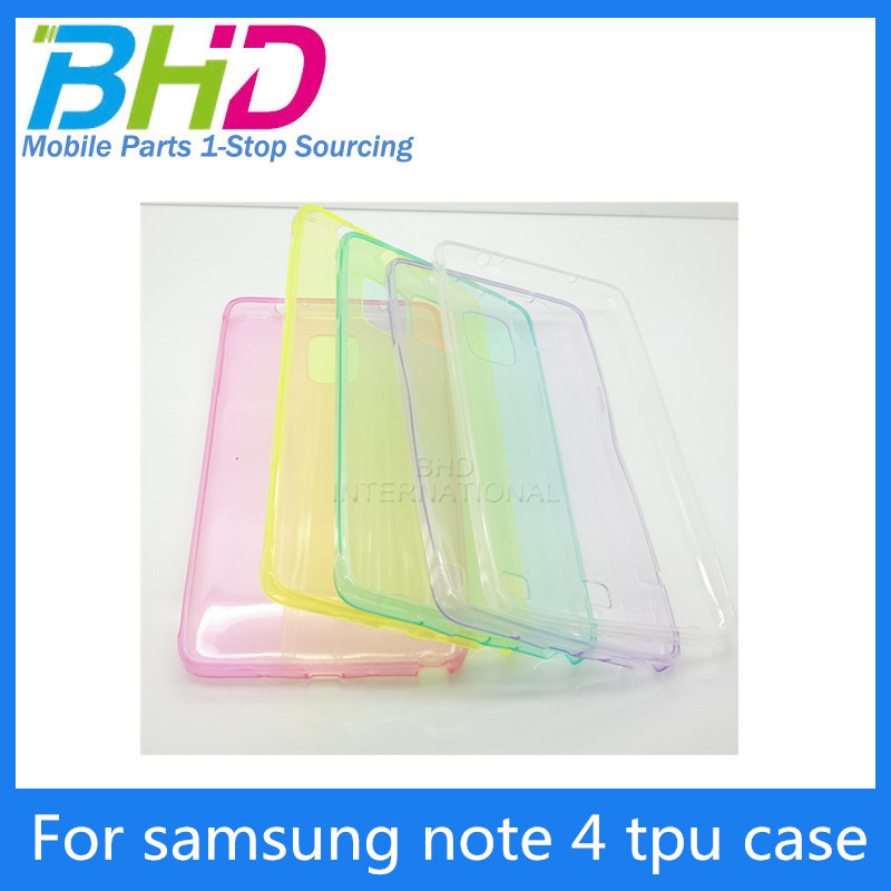 Free shipping!Summer Style High Quaility Soft TPU Case For Samsung Galaxy S4 i9500 Transparent Gel Flip Cover 9 Colors Drop Ship