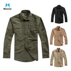 Urban Tactical Casual Shirt Quick Dry Breathable Military Clothing