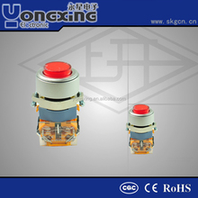 22mm 1normal close machine on off pushbutton switch