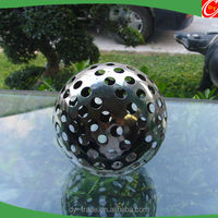 Metal Arts 150mm Hollow Steel Balls With Hole