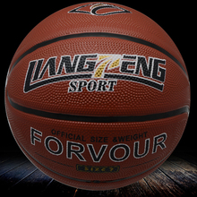 sports equipments manufacture basketball with custome logo
