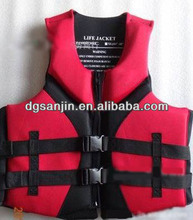neoprene fishing safety vest