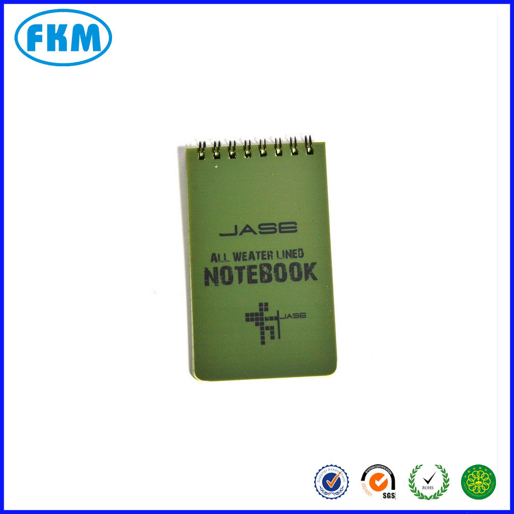 All Weather Notebook Waterproof Papel de Escrita em Chuva Note Book-3 * 5 polegada