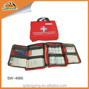 150pcs Professional Red bag kit first aid kit