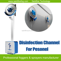 Disinfection Devices for Staff, Public Disinfection Channel for Entrance or Gate
