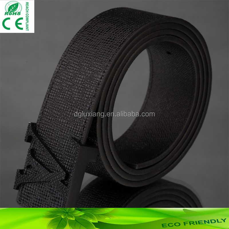 china supplier <strong>pvc</strong> belt for man or woman customized belt