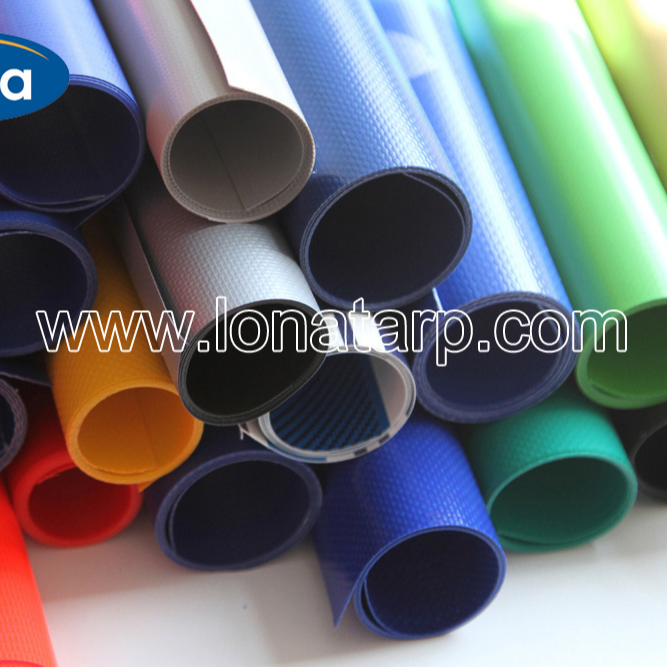 China cheap PVC woven fabric, various usage tarpaulin,Waterproof,Fireproof PVC coated Tarpaulin