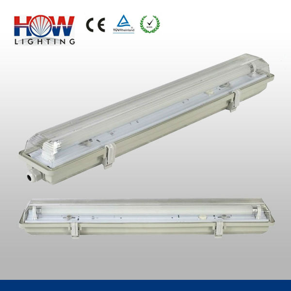 IP65 1*18W Tri-Proof fluorescent light cover clips