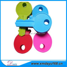 Wholesale High Quality Key Shaped Customed Silicone Door stops
