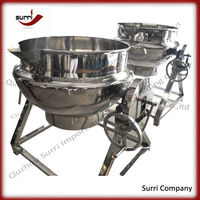 Widely Used Electric soup jacketed cooking pot/jacketed cooking pot
