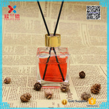 wholesale 100ml clear reed diffuser glass container/ Aroma round glass diffuser bottle
