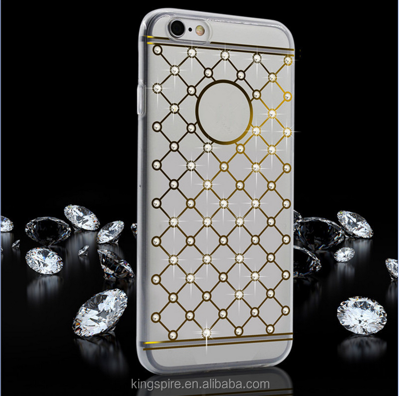 For iPhone 6 Full Star Sparkling Starry Bling Diamond Phone Case