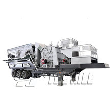 Rock Impact Crushing Plant Mobile Crushing Station