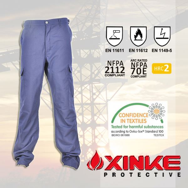 Reflective anti-mosquito fire retardant trousers for clothes