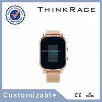 Hot sale GPS watch/mobile watch phones with pedometer and Customizable gps tracking system Thinkrace PT58 smart tracker