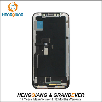 huaqiangbei Cheaper LCD for iPhone X LCD Screen + Touch Screen Digitizer Assembly