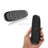 2.4GHz mini wireless keyboard air mouse with Keyboard for PC IOS Android TV BOX Linux Smart TV Ssmsung