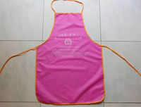 2015 cheap fashion promotion long sleeve apron