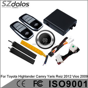 car RFID immobilizer&push button start stop system insivible car alarm