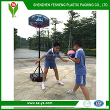 Hot selling children soprts equipment plastic basketball hoop stand set