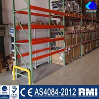 Powder Coating Shelf Rollers Teardrop Pallet Rack