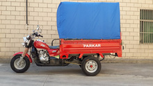 Big Power 200cc 3 Wheel Cargo Tricycle With A Cabin For Passenger On Sale
