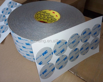 3M 1600T 1600TG double sided adhesive 3M pe foam tape die-cutting
