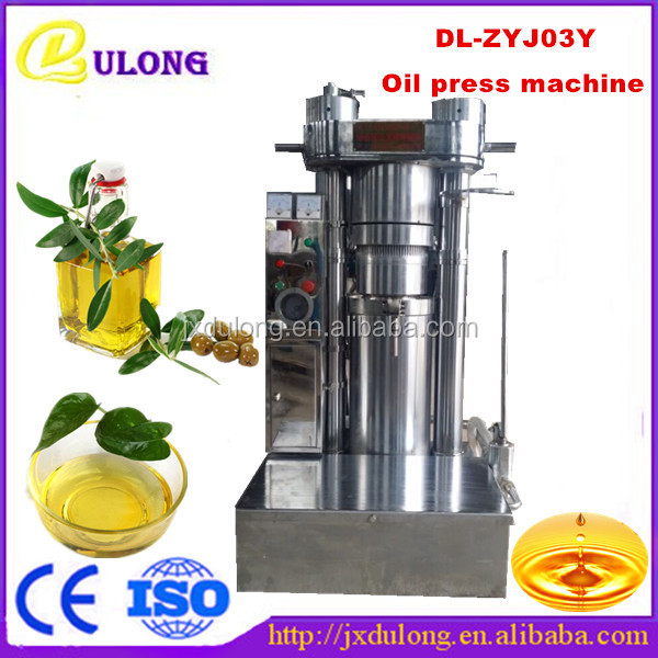 Cold Pressed Hydraulic Avocado Oil Press Extraction