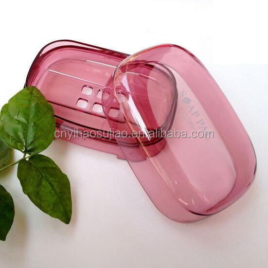 wholesale transparent plastic custom soap box