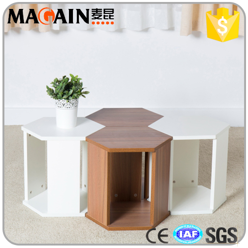 New design plywood end & side tables