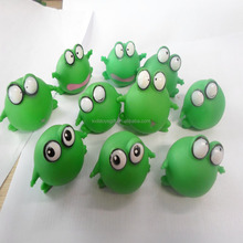 cheaper mini rubber bath toy squeaker frog