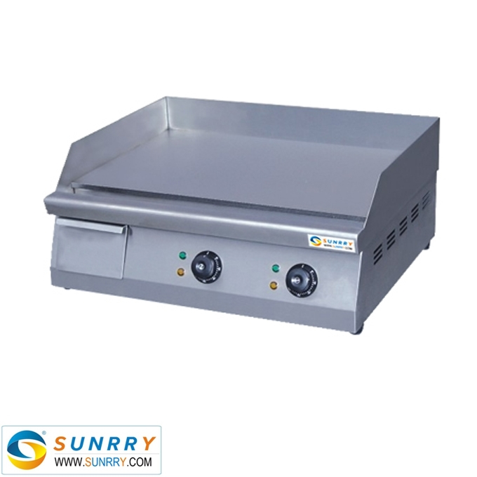 Commercial Flat Griddle Grill ~ Commercial induction griddle with flat bbq plate