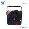 5 inch super bass portable speaker with fm bluetooth mini usb car speaker with sd card