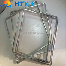 factory price square aluminum hollow bar for insulating glass