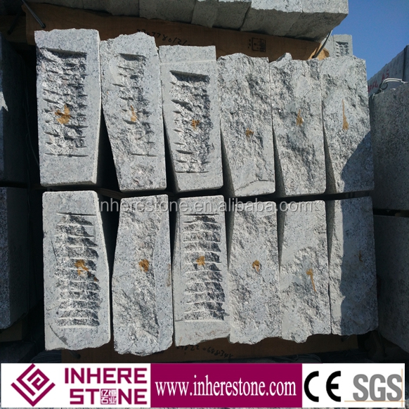grey colored, lowes landscape stone blocks, 603 granite wuhan