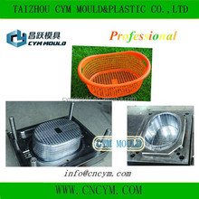 hot sale high quality plastic laundry basket mould