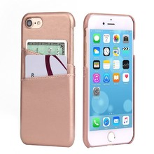 C&T Ultra Slim Leather wallet Credit Card ID Holder Slots Shockproof Protective Cover Case for Apple iPhone 7