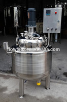 stainless steel / glass lined reactor tank