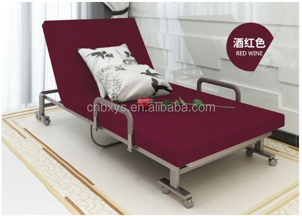 Single folding home guest bed with cheap price