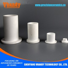 VHANDY OEM high temperature resistance alumina ceramics and metallization ceramic sleeve