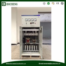 SVC low voltage capacitor compensation cabinet with power saving Power Usage