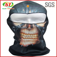 Custom sublimation printing animal balaclava ski mask for sale