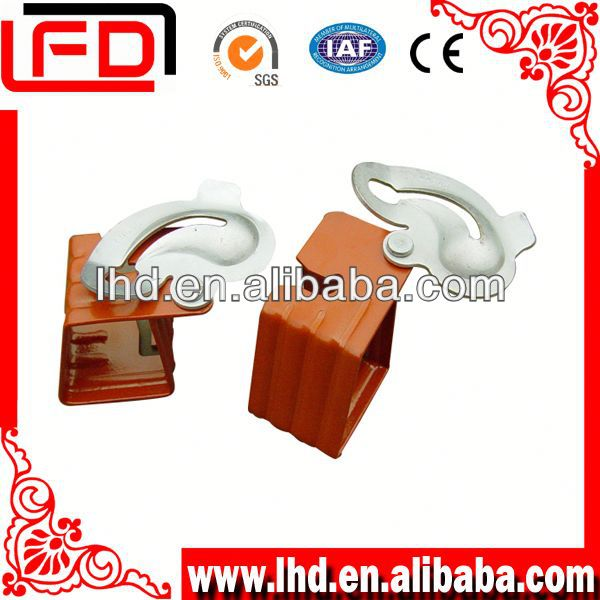 Steel Jahn A Bracket used for plywood form system