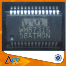 WM8731SEDS Audio IC CODEC PORT INTERNET 28SSOP intergrater circuit IC new can ship out immediately